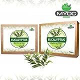 Eucalyptus oil anti microbial, anti bacterial, anti fungal, deodorant soap 75gm x 2 Pack