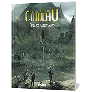 Edge Entertainment-El El Rastro de Cthulhu: Reglas abreviadas - español, Color (Edge Enterteinment EEPPTC00)