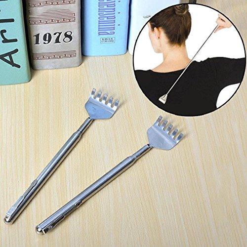 attachmenttou Massage parfait bâton Retour Scratcher acier Cinq dents épaisses et conception
