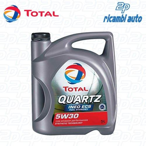 Olio motore per auto TOTAL QUARTZ INEO ECS 5W30 5