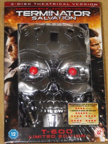 Terminator Salvation 2 Disc Theatrical Version T-600 Limited Edition