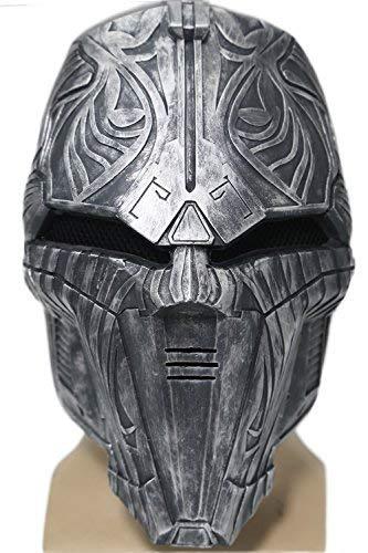 Sith Maske Cosplay Halloween Karneval Herren Erwachsener Harz Gesichts Sturz Helm Kostüm Stütze Verrücktes Kleid