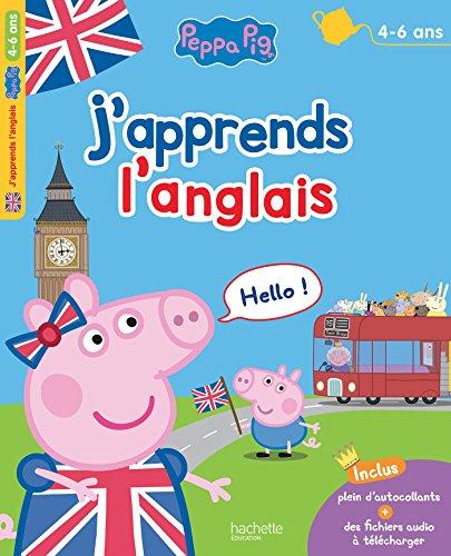 J'apprends l'anglais avec Peppa (4-6 ans) par Collectif