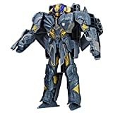 #8: Transformers MV5 Turbo Changer Megatron Action Figure, Black
