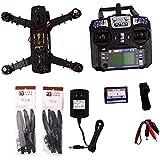 Hobby-Fun Kit & MT1806 Q250 RTF Quadcopter KV 2280 Motor & SimonK 12A ESC & CC3D batería y controlador remoto