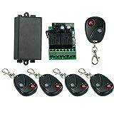 OWSOO Control Remoto Universal Inalámbrico Módulo de Receptor 433Mhz...