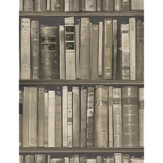 Andrew Martin International - Wallpaper/Wallcoverings - Library Stone Wallpaper