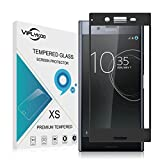 VIFLYKOO Sony Xperia XZ Premium Protection écran Verre Trempé 3D Full Coverage Flim Protection Protecteur d'écran Tempered Glass Screen Protector pour Sony Xperia XZ Premium - Noir