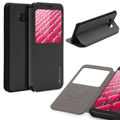 Urcover® Samsung Galaxy S8 Plus Hülle, Wallet mit [ Standfunktion ] Schutzhülle Case Cover Etui Ständer Aufsteller Handyhülle für Samsung Galaxy S8 Plus Farbe: Schwarz
