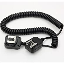 DSLRKIT - Cable remoto extensible TTL Off para flash Olympus y Panasonic (3 metros)