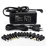 Sunydeal Chargeur Adaptateur Secteur universel 15V 16V 18.5V 19V 20V 90W pour ACER ASUS Sony Toshiba Fujitsu HP Compaq Dell Lenovo IBM Samsung LG Alimentation universelle pour Ordinateur pc Portable
