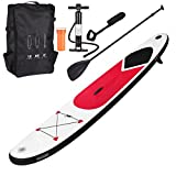 GEEZY Inflatable 305 SUP Surf Board with Adjustable Paddle, Ankle Strap, Pump