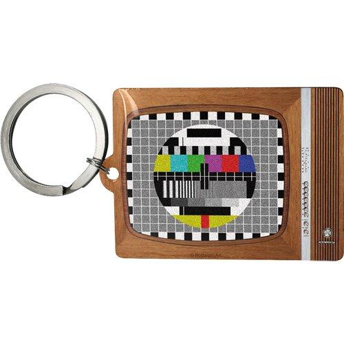 Nostalgic-Art 47015 Retro Wave - Retro TV, Schlüsselanhänger 6x4,5 cm