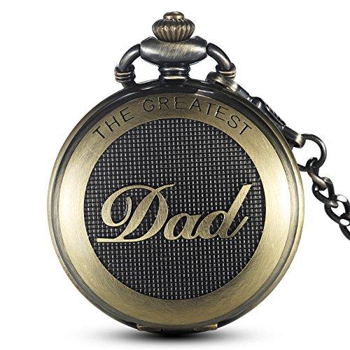 Gorben al quarzo orologio da tasca orologio da taschino catena orologio papà