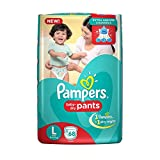 #6: Pampers New Large Size Diapers Pants (68 Count)