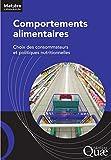 Image de Comportements alimentaires: Choix des consommateurs et politiques nutr