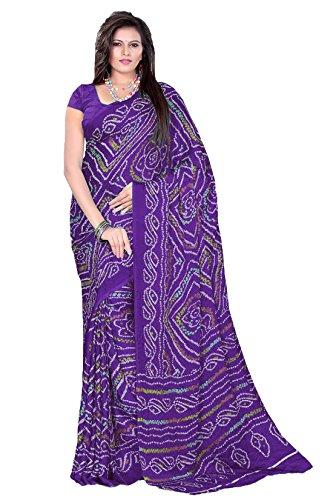Bandhani2018-9-Purple-Color-Crepe-Bandhani-Bandhej-Chunri-Saree