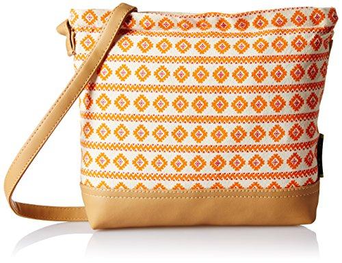 Kanvas Katha  Women\'s Sling Bag (Multi color) (KKSAMZAUG001)