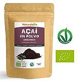 Bayas de Acai Orgánico en Polvo [Freeze - Dried] 200g | Pure Acaí Berry Powder Extracto crudo de...