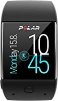 Polar M600 Fitness Tracker Smart Watch with 6 LED Optical HR Sensor - Black