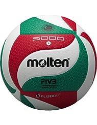 Volleyball Flistatec - weiß/rot/grün