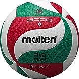 Molten Volleyball - 5, Weiß / Grün / Rot
