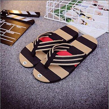 Slippers & amp da uomo;Estate comfort personalizzato Materiali nylon casuale piani del tallone Altri Altro sandali US11 / EU44 / UK10 / CN46