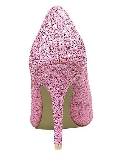 WSS 2016 Chaussures Femme-Extérieure / Bureau & Travail / Soirée & Evénement-Noir / Jaune / Rose / Rouge / Argent / Gris / Fuchsia-Talon Compensé- white-us5.5 / eu36 / uk3.5 / cn35