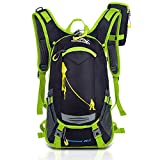 Rmine unisex Cool Fahrradrücksack Trekking Ski Rucksäcke Backpack mit Regenabdeckung