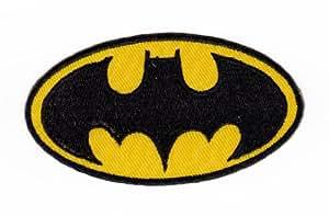 Écusson bügelbild patch iron on patchs motif chauve-souris batman