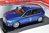 Motormax Audi Q5 SUV Blau Ab 2008 1/24 Modell Auto mit individiuellem Wunschkennzeichen