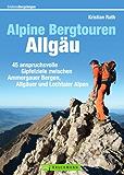 Alpine Bergtouren im Allgäu: Wanderführer mit 45 anspruchsvollen Bergwanderungen in den Allgäuer Alpen mit detaillierten Angaben zu Routenverlauf, Anforderungen und Ausrüstung, mit Tourenkarte