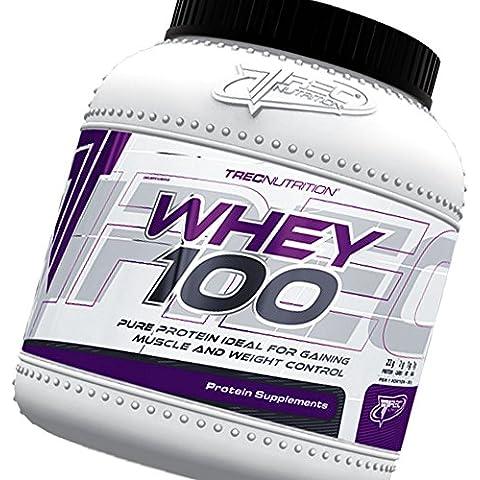 100% Pure Proteína 1500g - Complejo polvo de proteína de suero - calidad realmente alta - ganar músculo y Control de Peso - La mejor proteína para construir músculos (fresa)