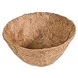 Suppemie Fodera per Vasi di Fiori Fodera di Ricambio in Fibra di Cocco da Giardino Vaso di Fiori Cesto Fodera per La Decorazione Domestica Fiori E Piante, 10 Pollici
