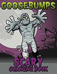 Goosebumps Scary Coloring Book