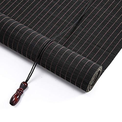 Tenda a rullo in bambù tende avvolgibili in bambù per interni & esterni, tende avvolgibili con filtraggio della luce per gazebo patio, 85cm/105cm/125cm/145cm di larghezza (size : w 145×h 240cm)