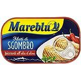 Mareblu Filetti di Sgombro, Piccanti all'Olio d'Oliva - 90 gr