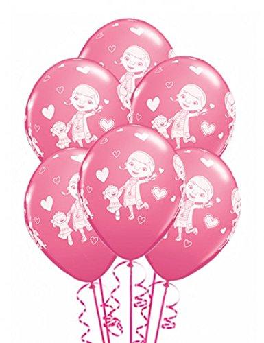 chtomaten Disney Doc McStuffins 30,5cm rund Rose Latex Luftballons 06ct (Doc Mcstuffins Ballons)