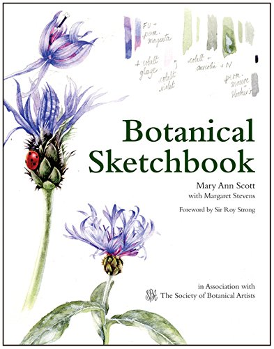 BOTANICAL SKETCHBOOK: Drawing, painting and illustration for botanical artists por Mary Ann Scott