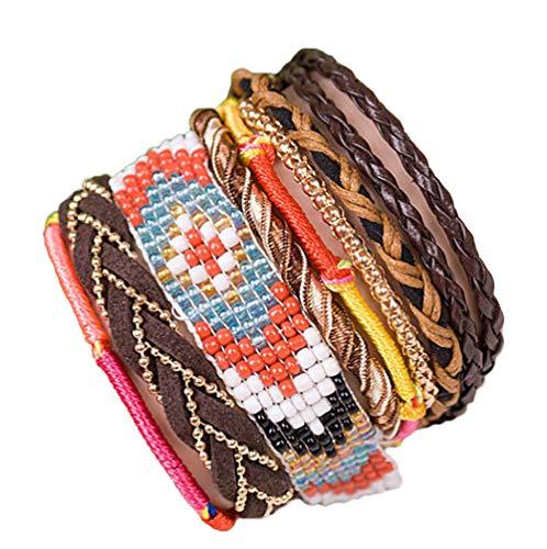 """ANDANTE - moda hippie, pulsera de estilo etno """"BALI"""", tamaño universa"""