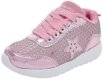 Conguitos Mädchen Deportivo Luces Derbys, Pink, 27 EU