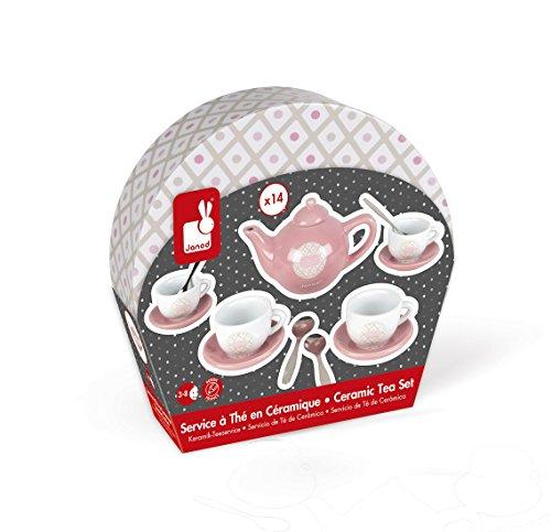 Piatti In Ceramica Per Bambini.Janod Tee Di Stoviglie Giocattolo Piatti Di Ceramica