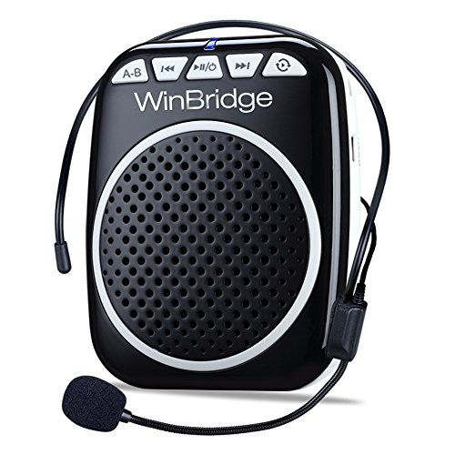 WinBridge Amplificador Voz portátil Ultraligero Recargable