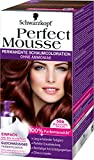 Perfect Mousse permanente Schaumcoloration, 586 Mahagoni Braun, 3er Pack (3 x 1 Stück)