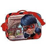 Montichelvo Ladybug Amour Bolsillo suelto para mochila, 44 cm, Multicolor