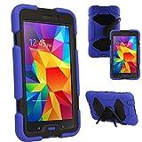 TECHGEAR® G-SHOCK Étui pour Samsung Galaxy Tab 4 7.0 Pouces (SM-T230...