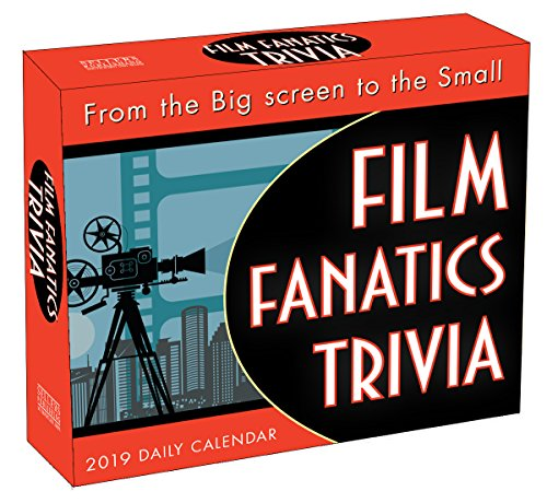2019 Film Fanatics Trivia Boxed Daily Calendar: By Sellers Publishing