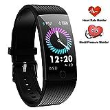 WENVVIS Fitness Tracker, Fitness Armband Wasserdicht IP67 Smartwatch mit...