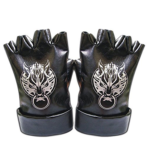 Ff Kostüm Cloud - CHIUS Cosplay Costume Leather Gloves For