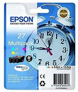 Epson 27 Cartouche d'encre d'origine Multicolore